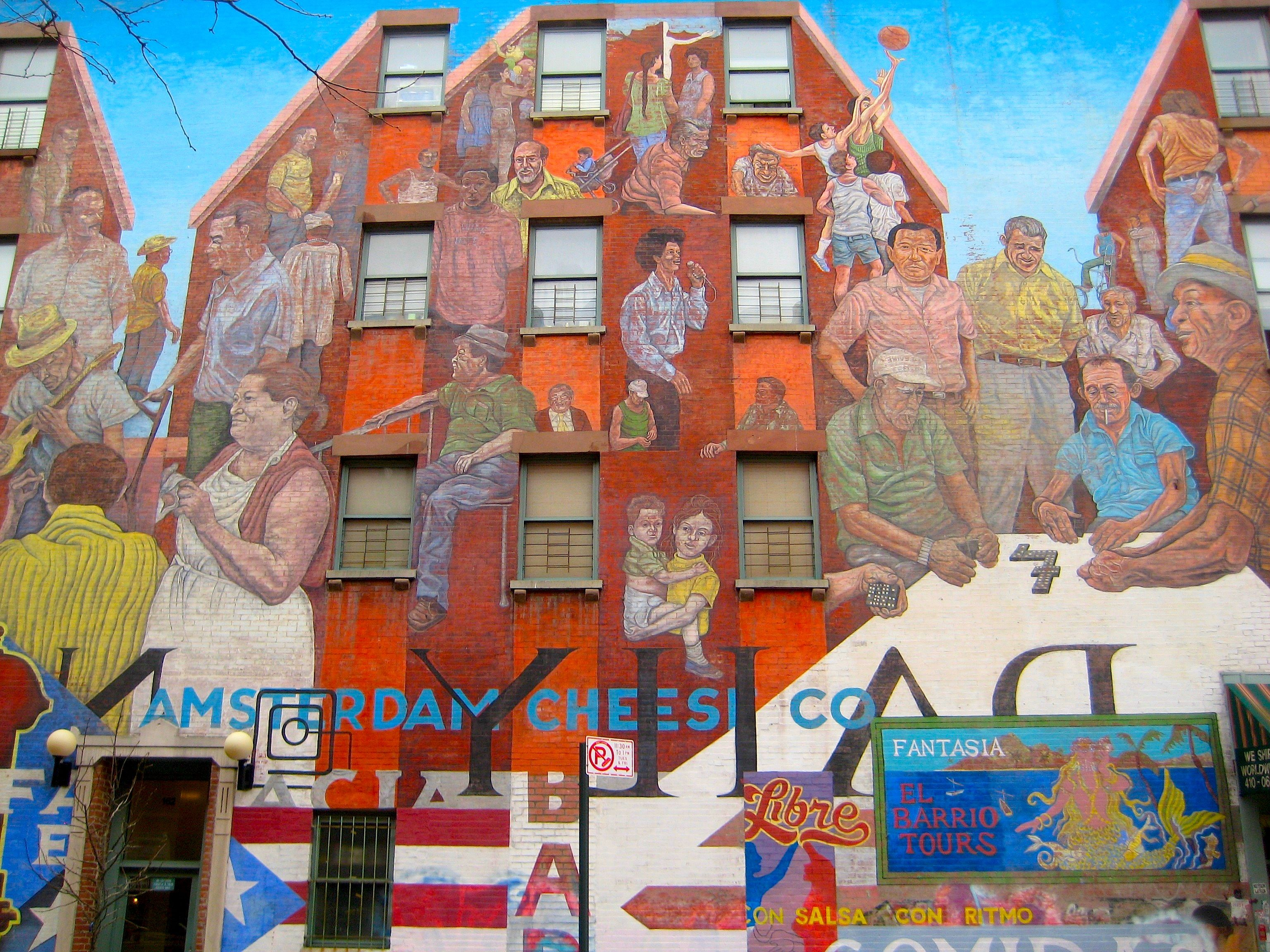 Harlem spent time with their juvenile justice program and