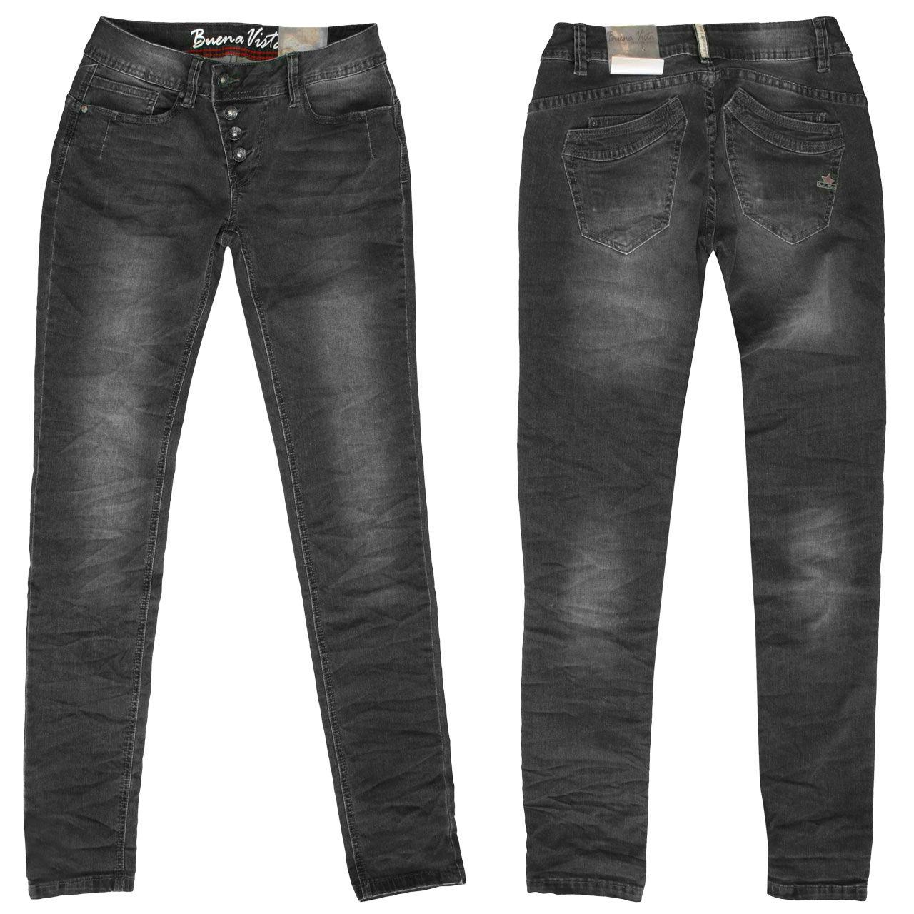 Buena vista jeans schwarz