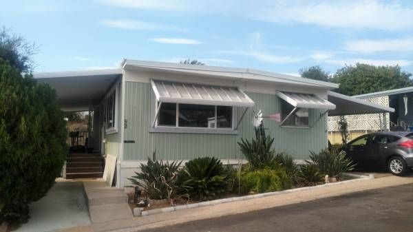 Live In This Beautiful Senior Mobile Home Community In El