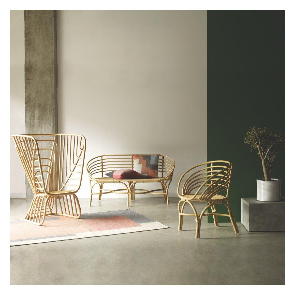 AVIA Rattan garden bench | Buy now at Habitat UK | bamboo ...