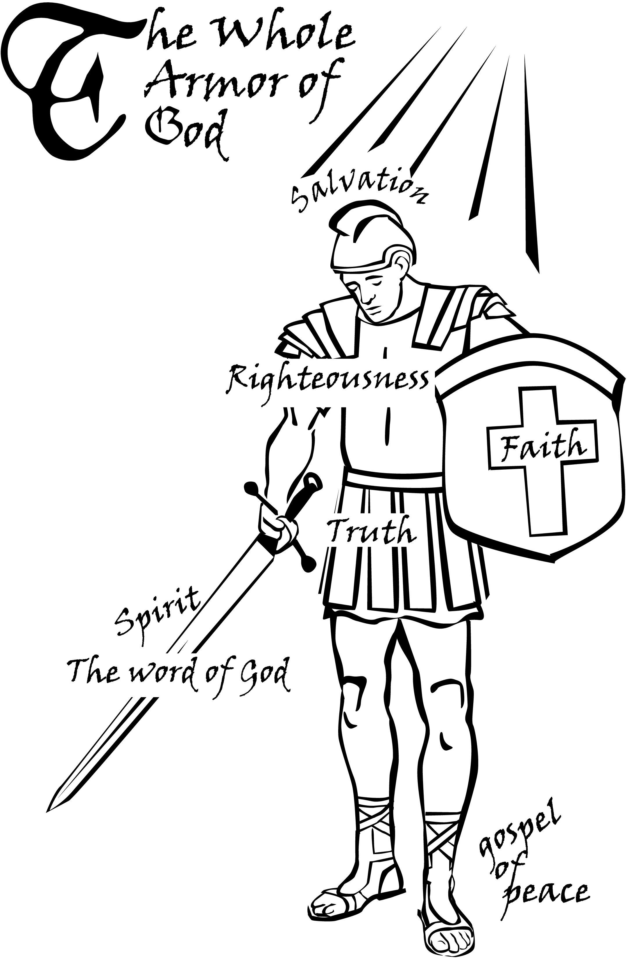 Armor Of God Artwork