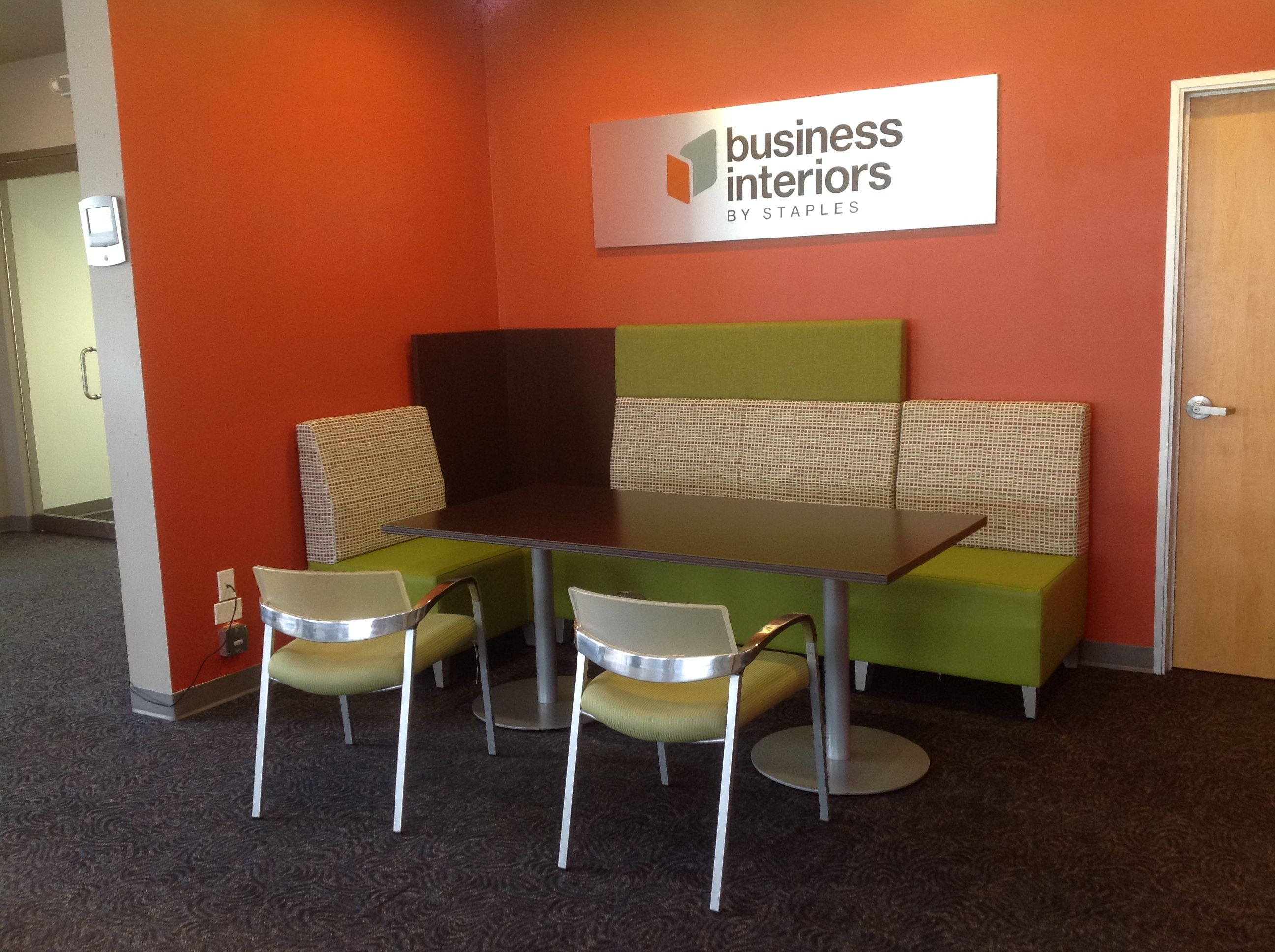 Business Interiors By Staples (Auburn, WA) Fringe Lounge Seating With  Aurora Side/