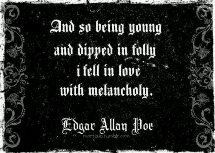 Great Poe quote.
