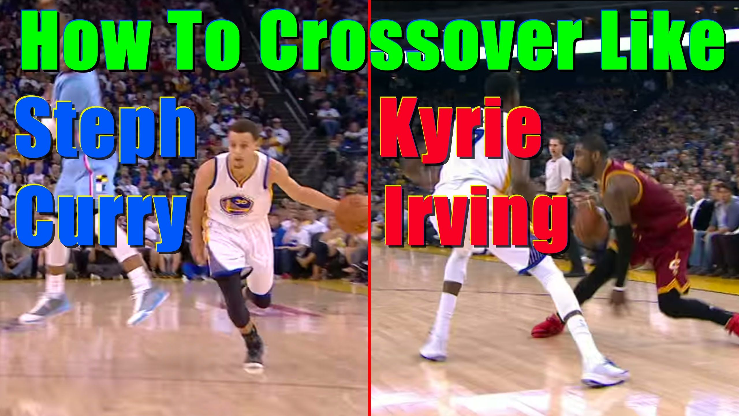 5aa4a9e5b67 How To Crossover Kyrie Irving   Stephen Curry - Top 10 Best Basketball M..