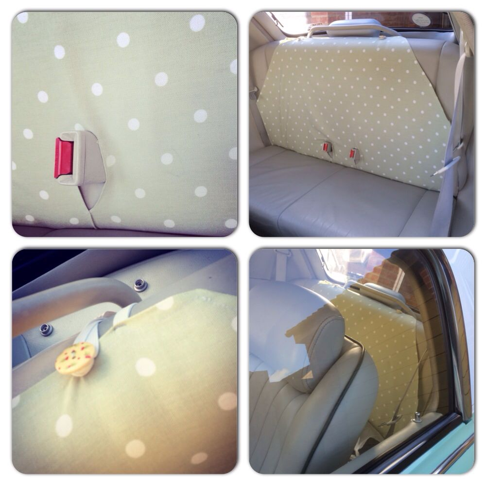 Back seat cover for Nissan Figaro