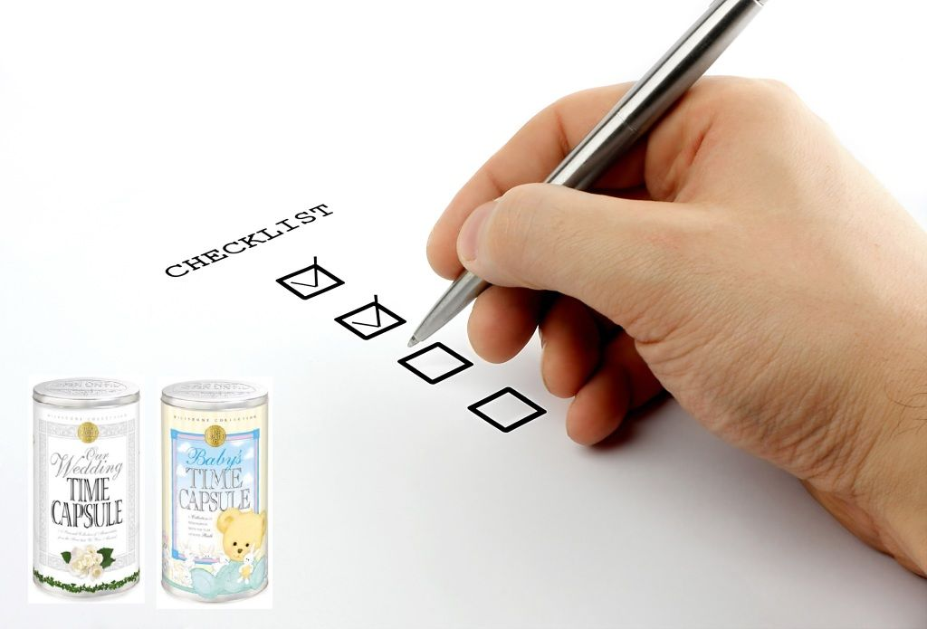 Are you trying to find or make a time capsule? Take a look at our ideas checklist about what to put in a time capsule. Includes items throughout the year and letters to the future