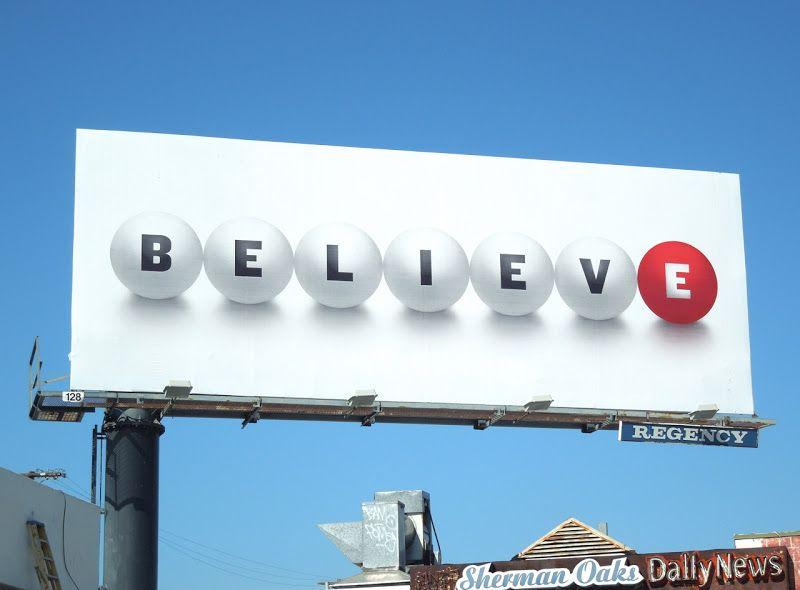 Believe Powerball California Lottery billboards    | Cool