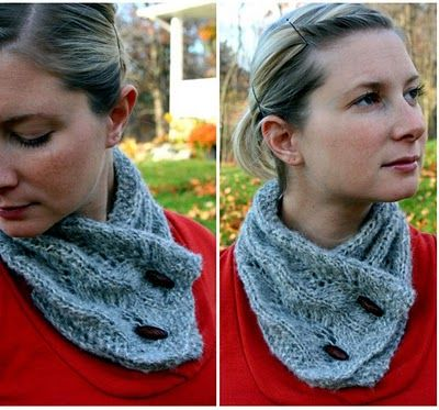Frosted Glow Cowl Pattern