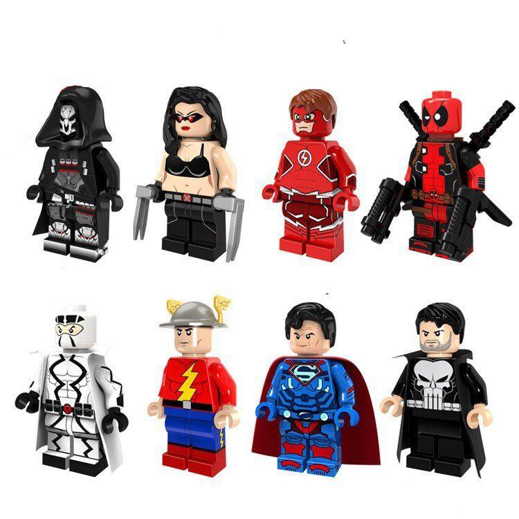 "Lot of 80 bricks /""lego/"" miniatures for doll showcase,..."