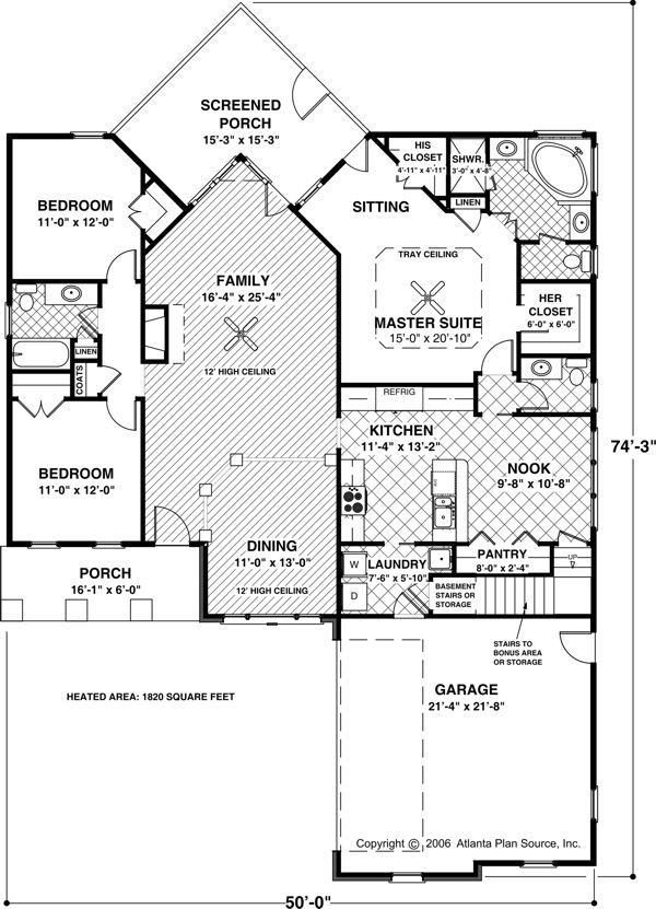 Plan 20040ga Two Bonus Rooms Craftsman Style House Plans Small House Floor Plans How To Plan