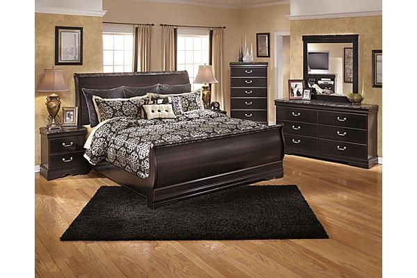 The Esmarelda Sleigh Bedroom Set From Ashley Furniture