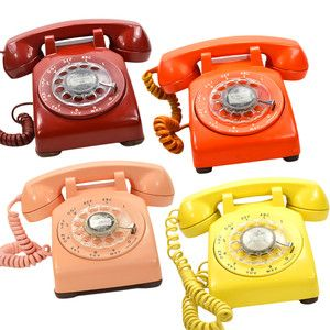 Who remembers the sound that a rotary telephone made
