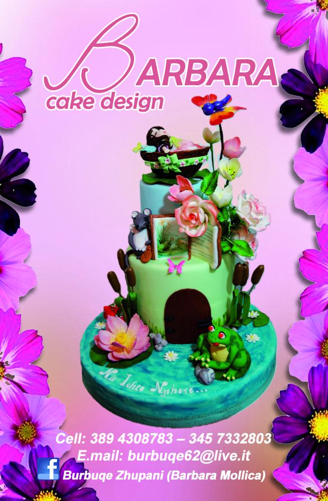 CLIENTE: Barbara Cake Design - bigliettino da visita