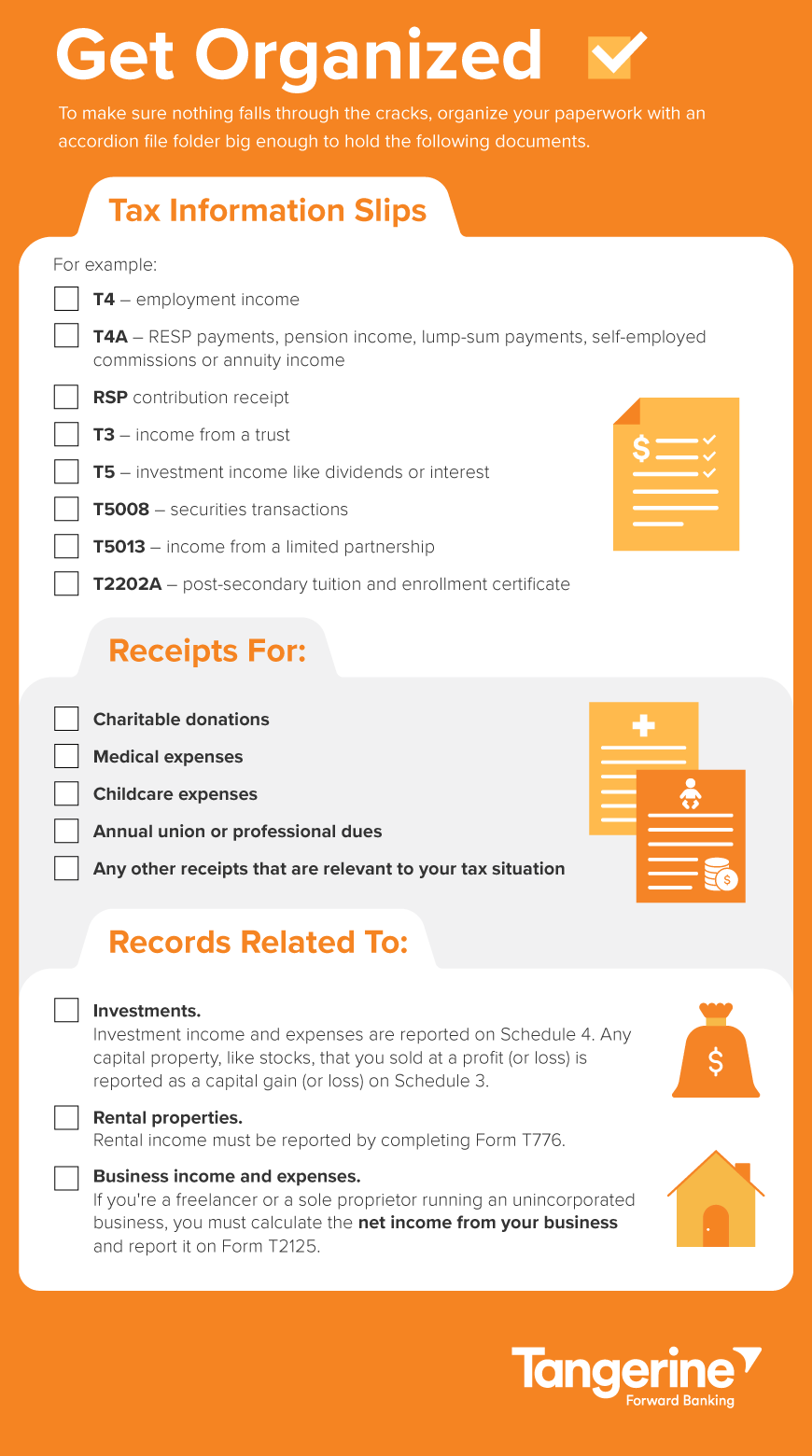 Simple Checklist To Make Filing Your Taxes Easier With Images