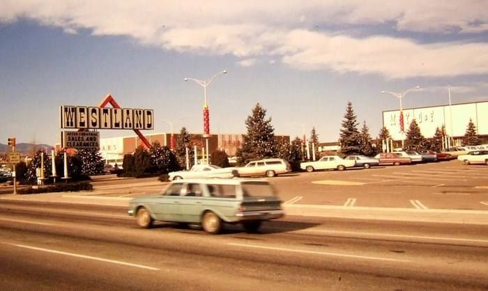 Westland Mall On West Colfax In The 1960 S Colorado Christmas