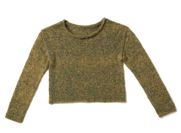 Strickmuster: Garnmix Pullover stricken eine Anleitung