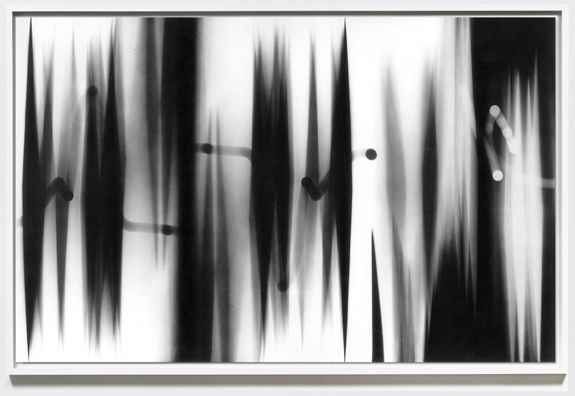 William Klein  Abstract (turning panels),1952  Gelatin silver print, printed 2012
