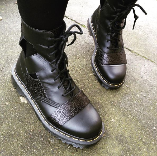 The Katrina cut-out boots, shared by erikamakin.   Dr.Martens ... 2758764ef64b
