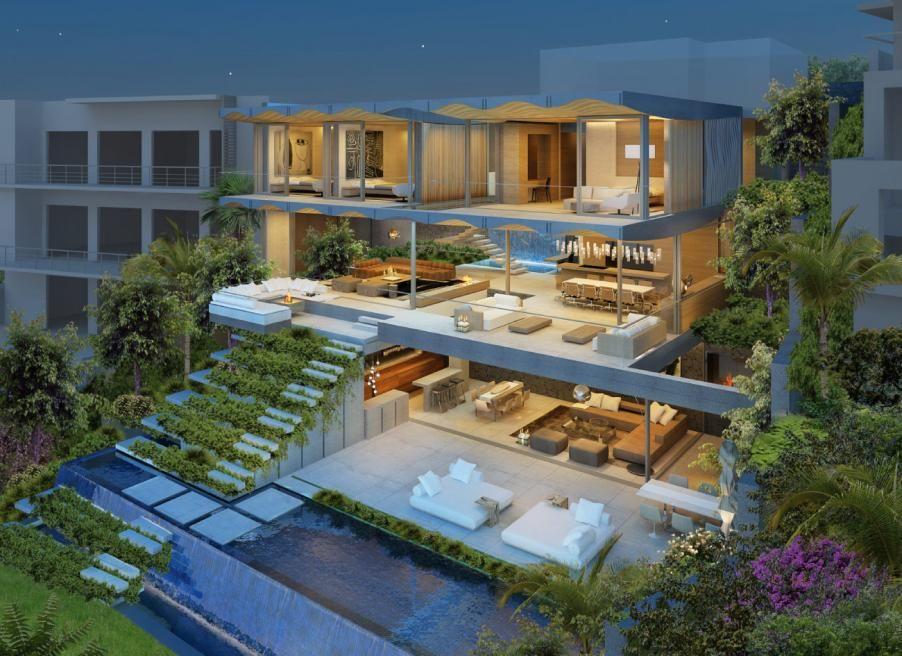 Modern home design a northbridge sydney australia for Beach house designs sydney