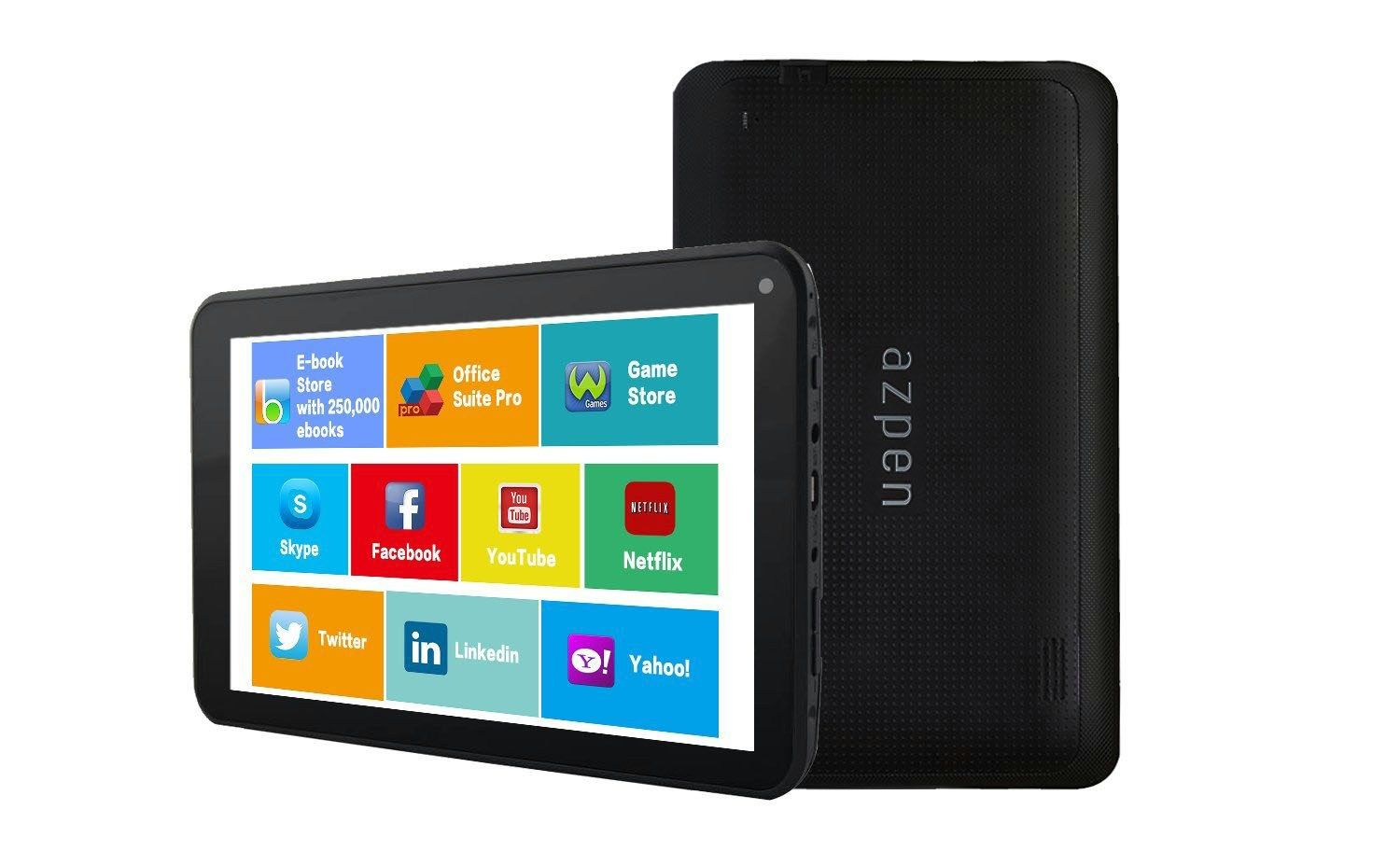 Review Azpen A746 7 inch Quad Core 8GB Android Tablet