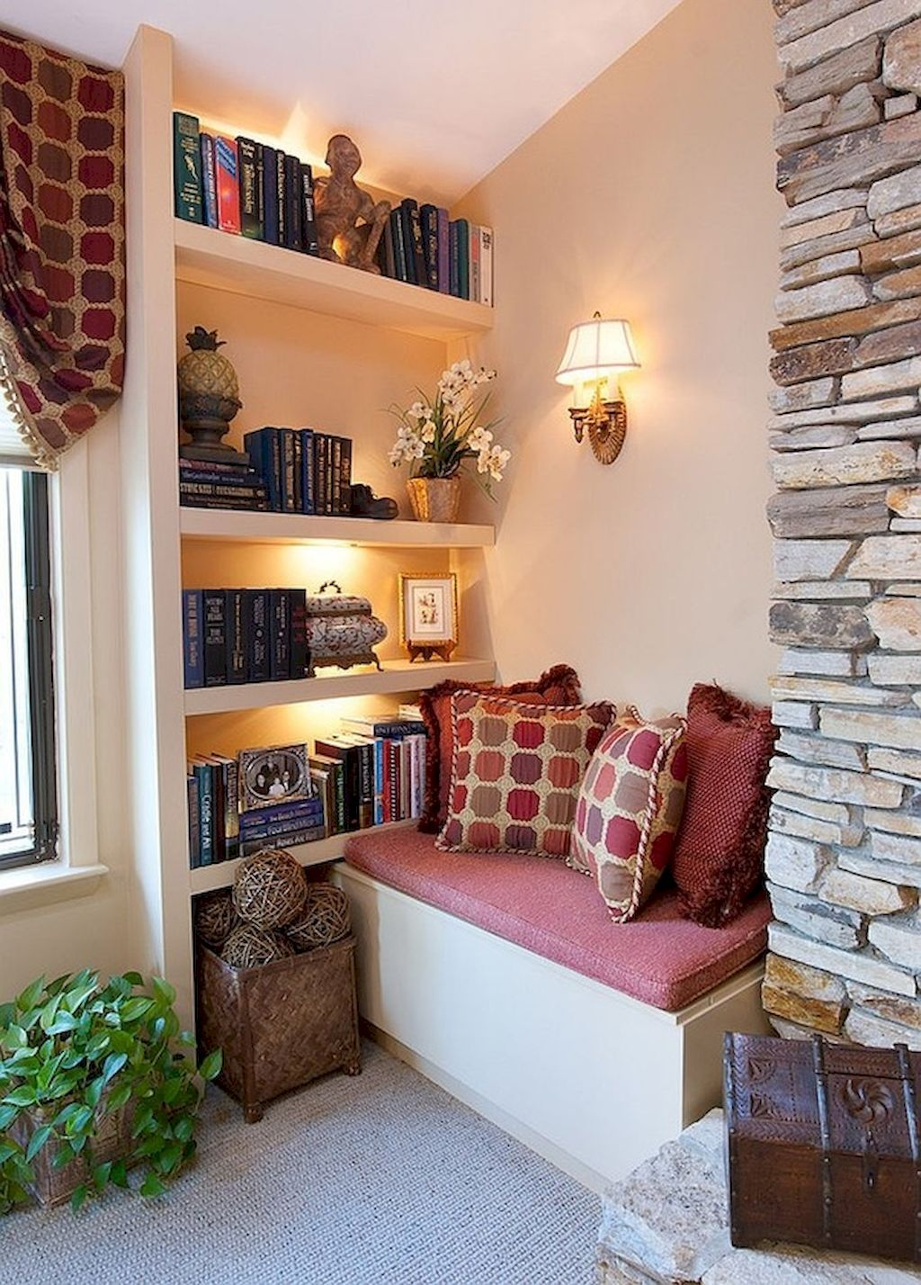 50 Relaxing And Cozy Reading Corner Decor Ideas Decorationroom