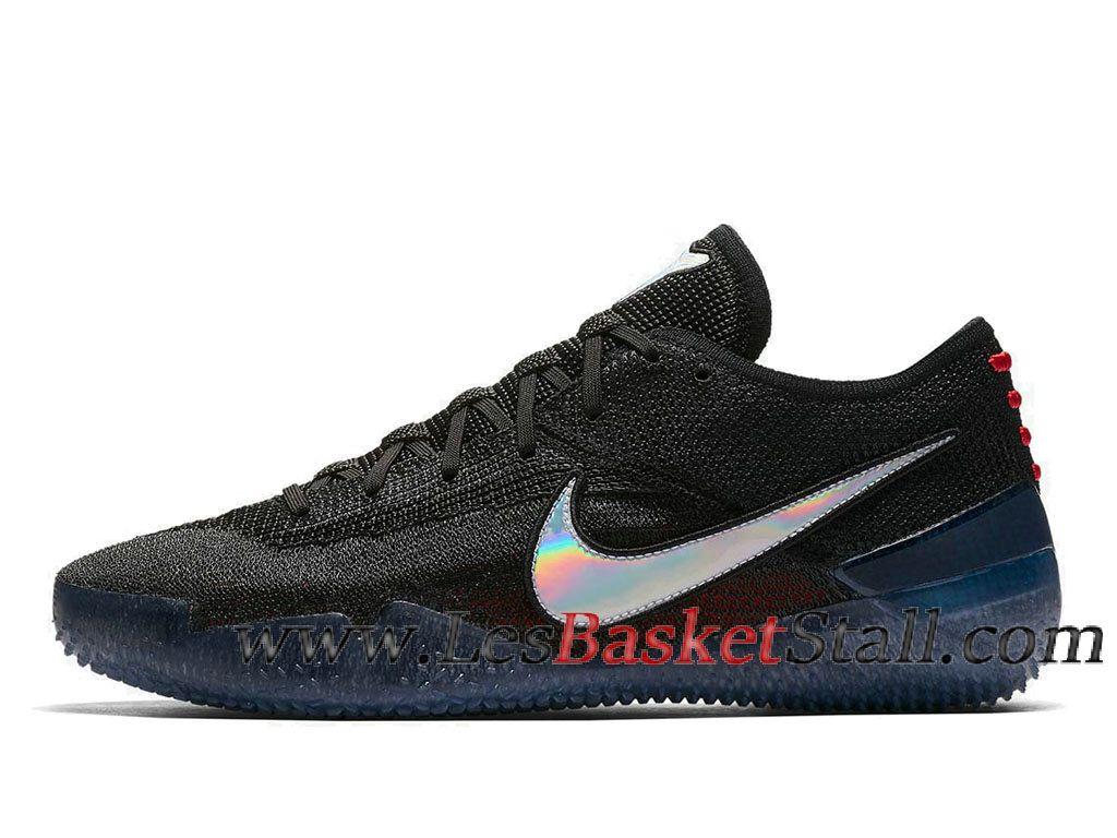 38453ec84a9 Nike Kobe A.D. NXT 360 Chaussures de BasketBall Pas Cher Pour Homme Noir  Blanc AQ1087-