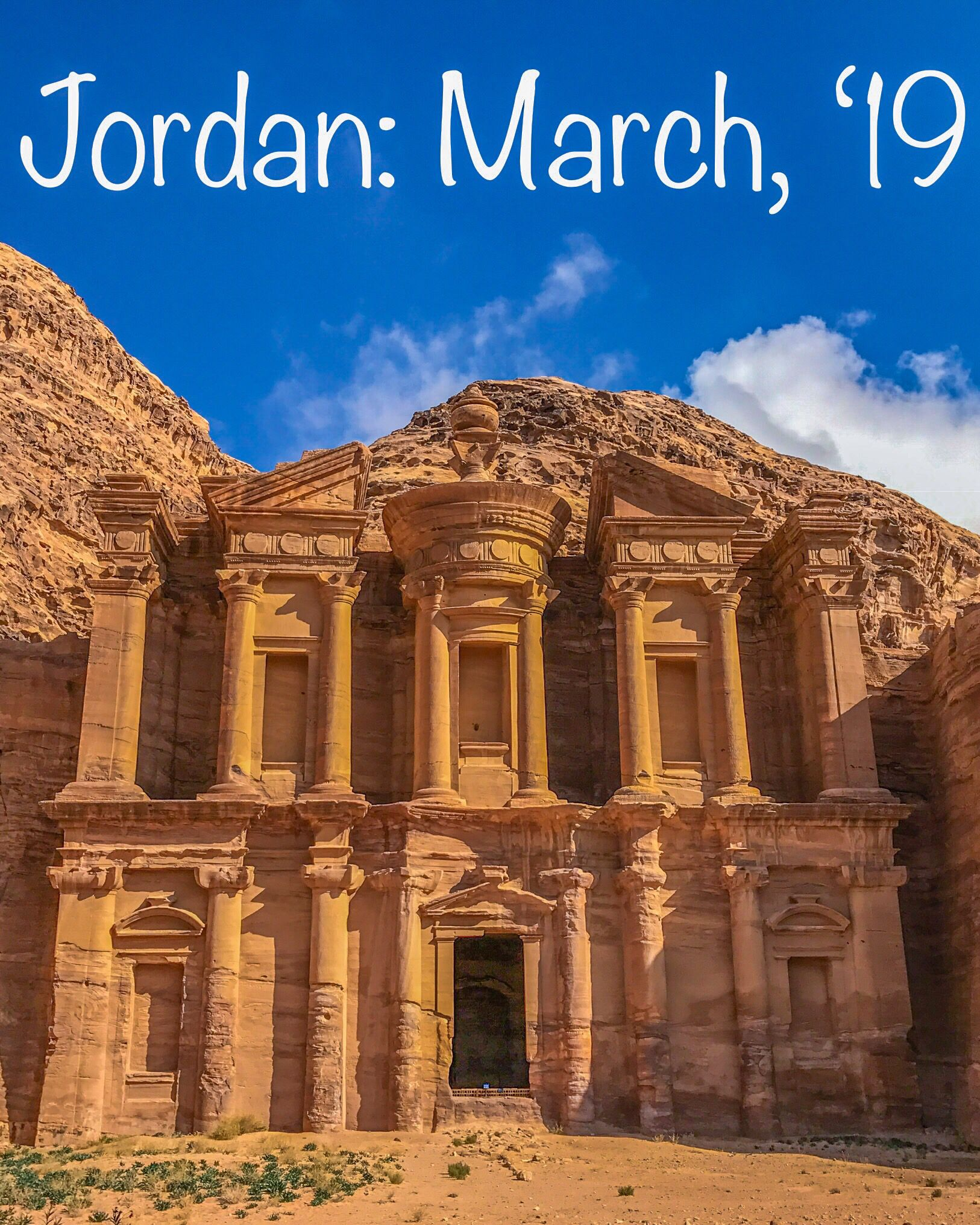 Group Trip To Jordan April