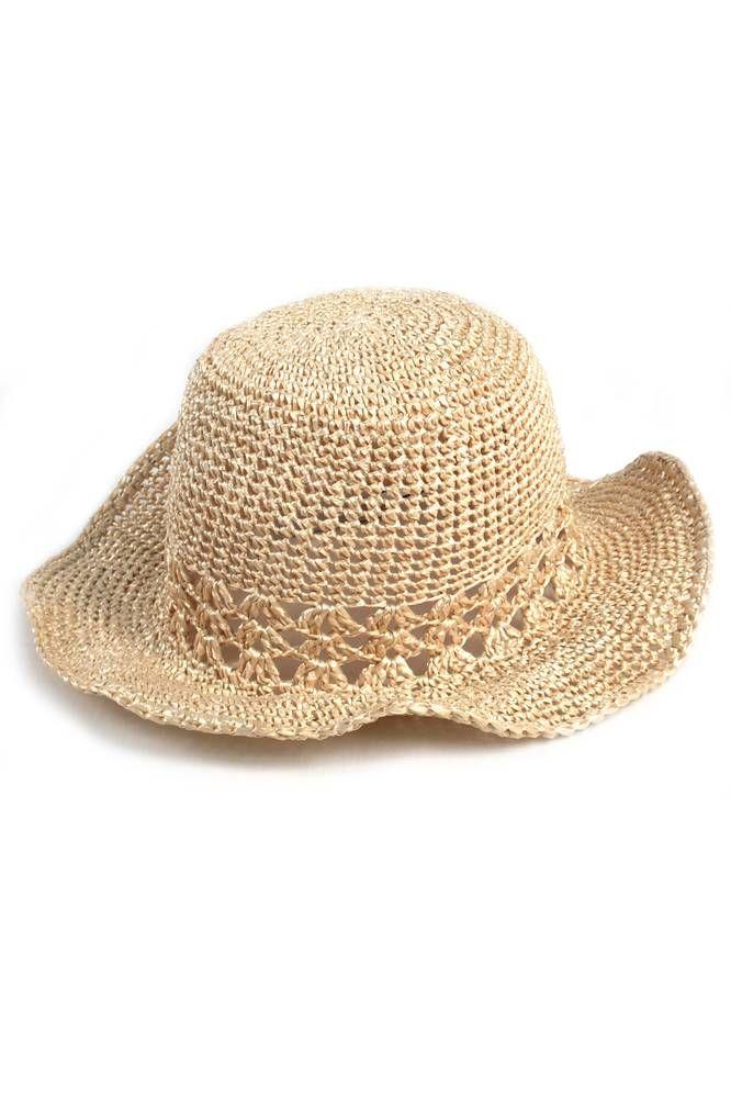 Sombrero Tejido Crochet - - Sombreros - Almacen de Belleza ... 4ff618c610c