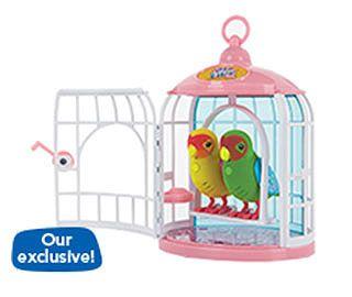 Little Live Pets Bird Cage With 2 Birds Little Live Pets