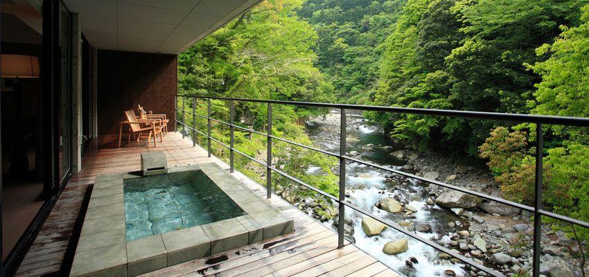 Arcana Izu Onsen Hotel Japan Hoteles Disenos De Unas Cuarto