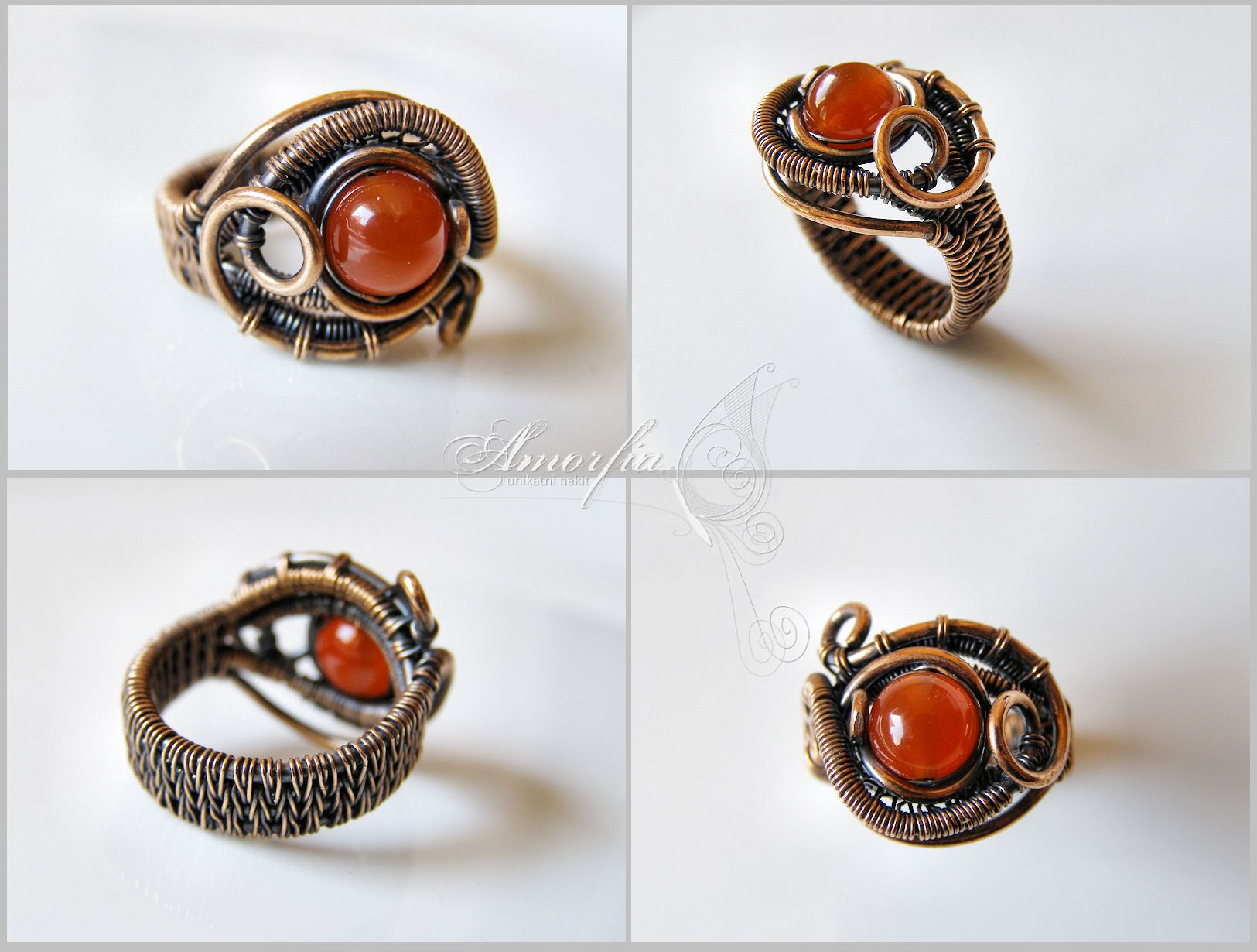 Wire-Woven Free-Form Ring - Bead&Button Show | For Inspiration ...