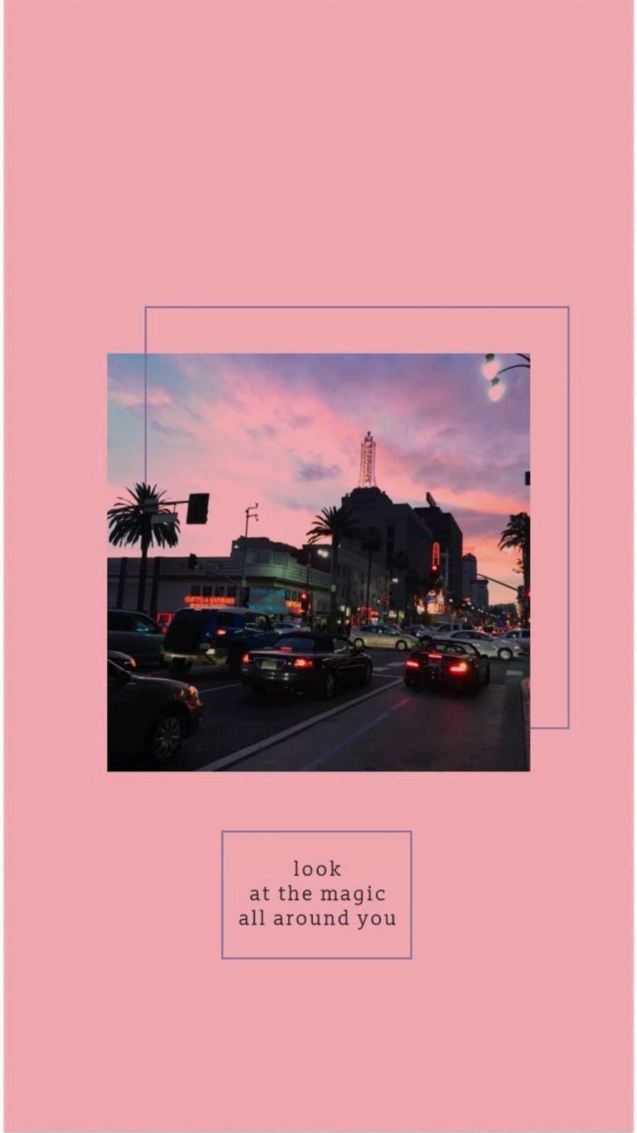 look around 💜🌸
