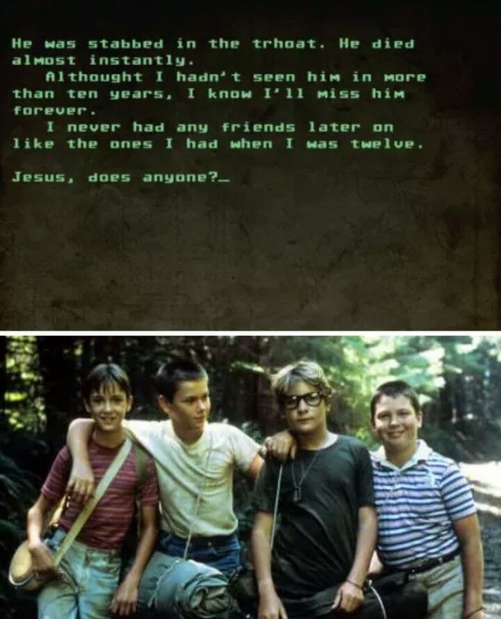 Stand By Me Ending I Movie Movie Posters Movies