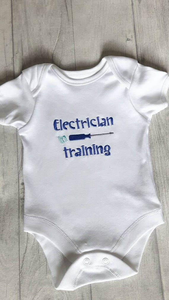 Train Personalised Kids Child Baby Vest Grow Bodysuit