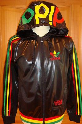 big sale 5f630 dfcaf SALE ADIDAS SUPERSTAR RASTA HOODY TOP HOODIE CHILE 62 M BOB MARLEY IAN  BROWN on eBay!