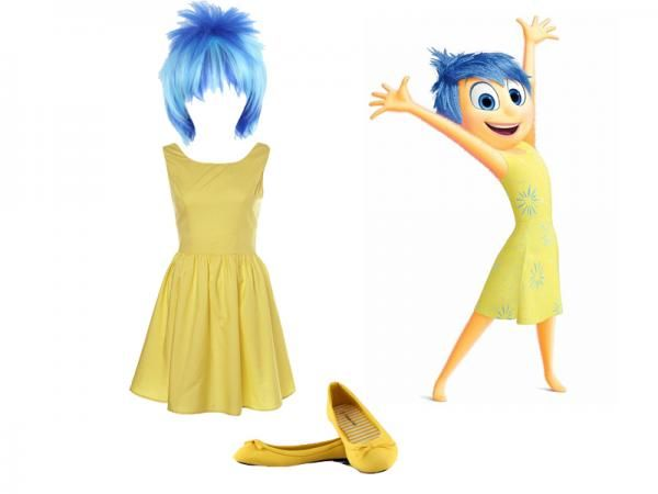 How to make a joy from inside out costume costumes pinterest how to make a joy from inside out costume solutioingenieria
