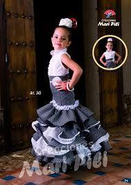 5636eef84 Resultado de imagen de falda flamenca de niña | Traje flamenca niña ...