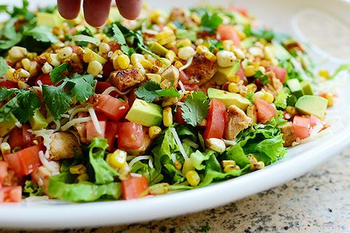 Chicken Taco Salad. Hypoglycemic Friendly Recipe Diabetic Friendly Recipe Whole Foods Recipe