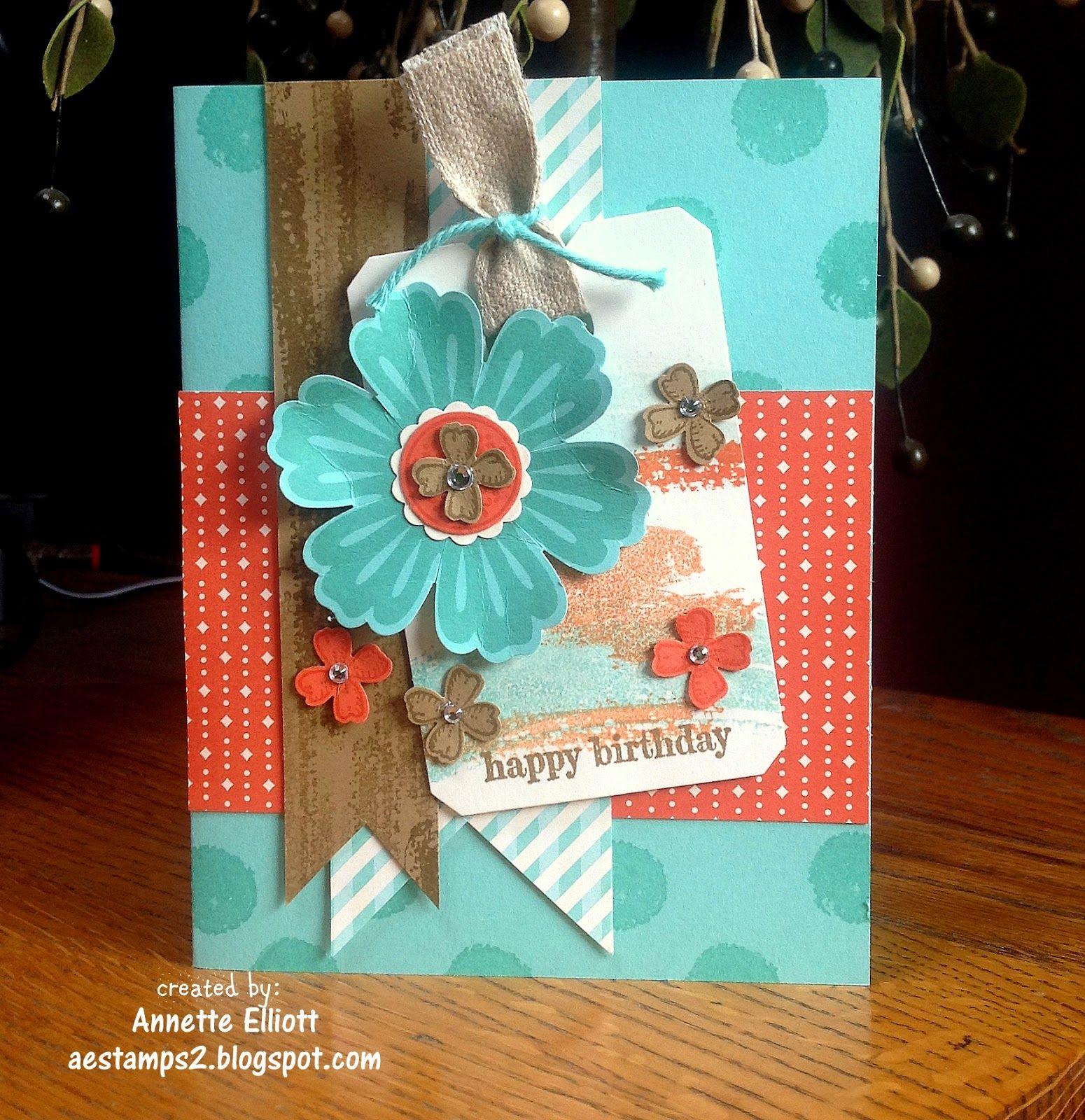 Sneak Peak: Happy Birthday card