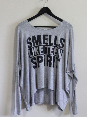 Teen Spirit Tee Love love!!! Fall fall outfit ideas clothing ...