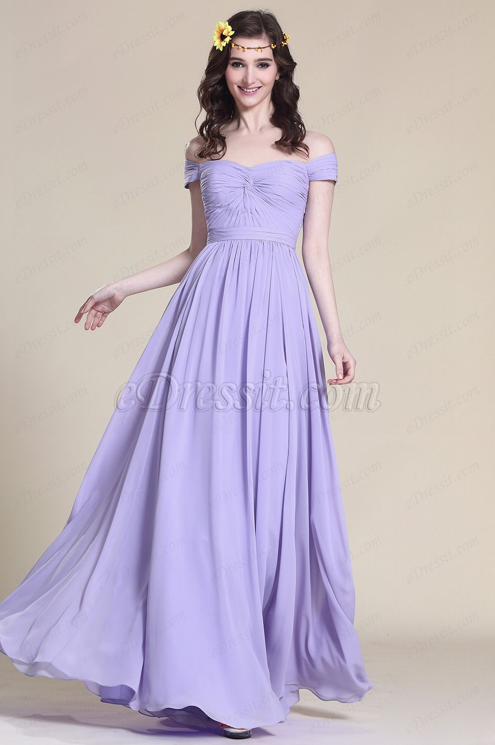 http://www.edressit.com/off-shoulder-lavender-bridesmaid-dress-prom ...