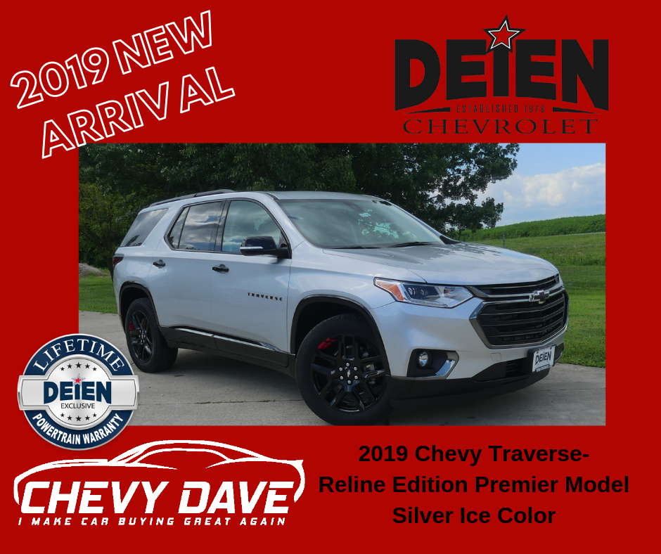 New 2019 Alert 2019 Chevrolet Traverse Redline Edition Just