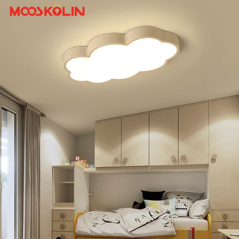 Luminaire Cloud Kids Room Lighting Children Ceiling Lamps Baby Ceiling Light With Yellow Blue Red Kids Ceiling Lights Kids Room Lighting Bedroom Ceiling Light