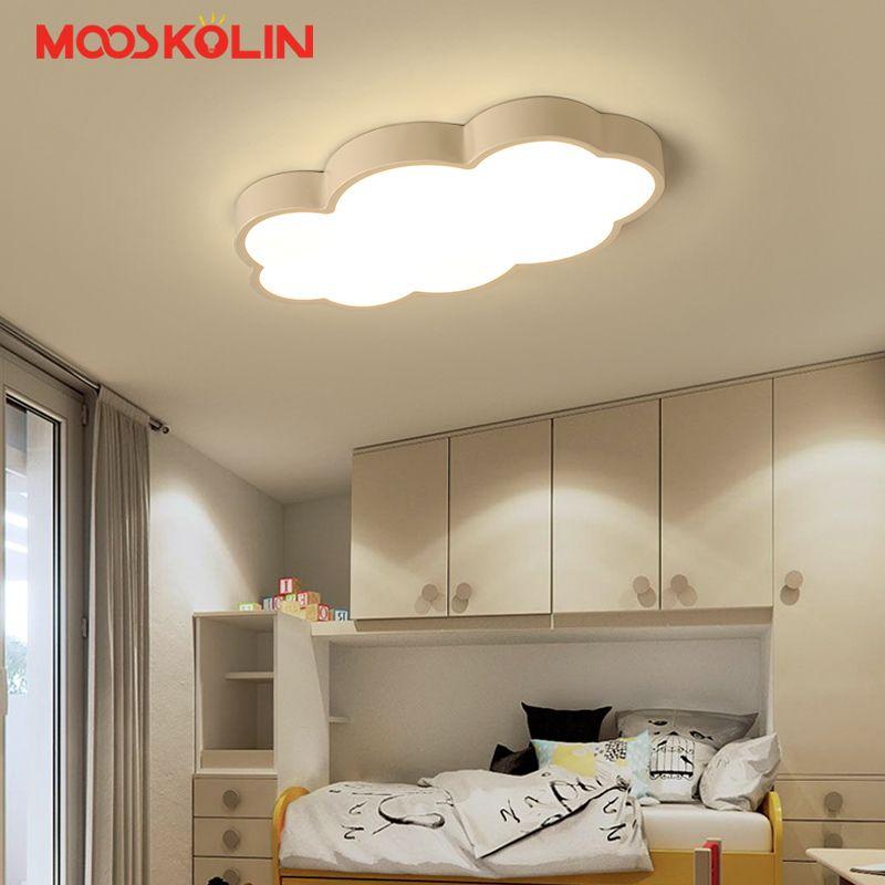 Luminaire Cloud Kids Room Lighting Children Ceiling Lamps Baby