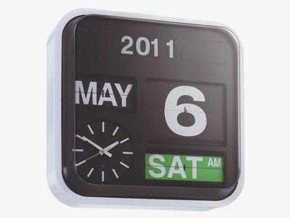 FLAP Large analogue wall clock