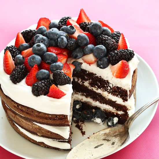 Gluten Free Birthday Cake Vegan Recipe Vegan Birthday Cake