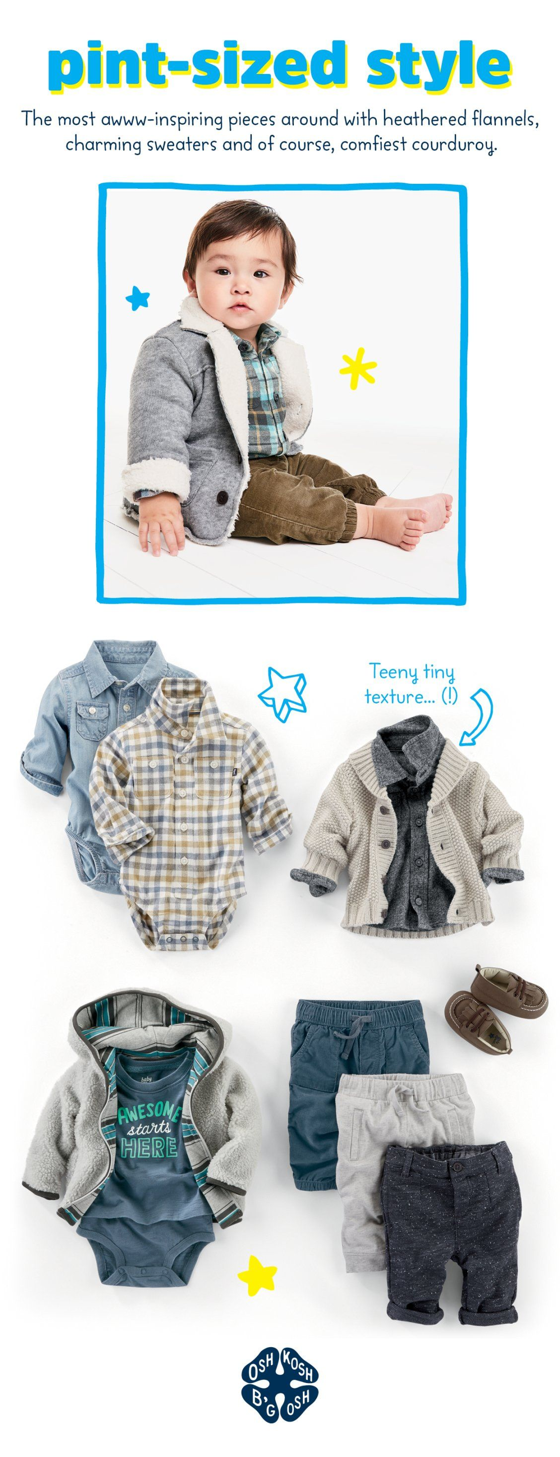 Fall Styles For Baby Boys Start With Little Layers More