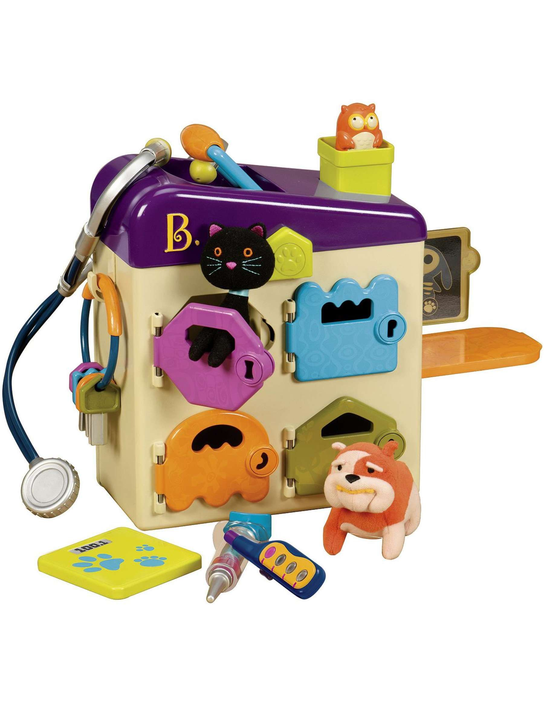 David Jones B Toys Pet Vet Clinic Baby Playtime