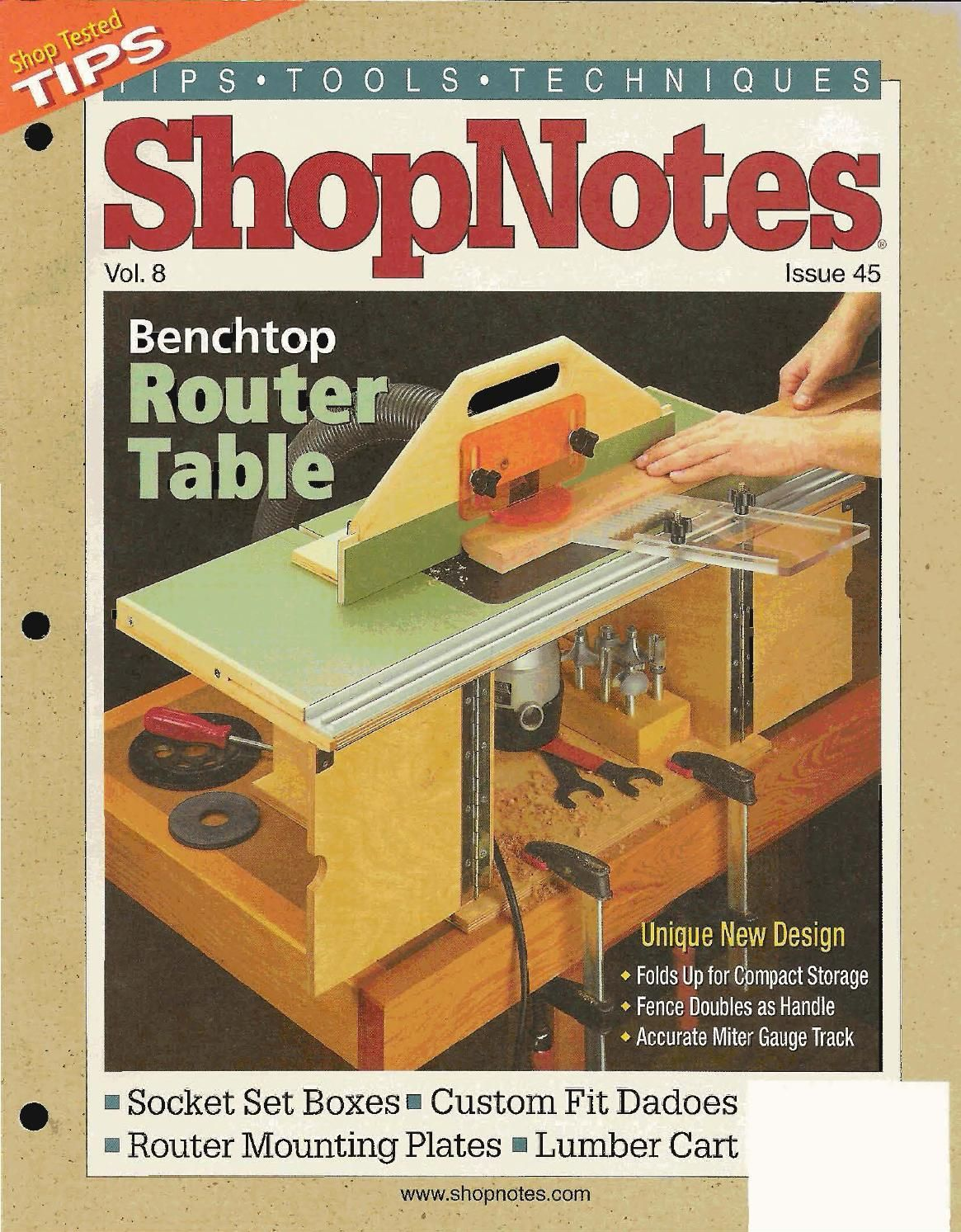 Shopnotes issue 45 shop notes pinterest woodworking note and shopnotes issue 45 woodworking magazineswoodworking shopwoodworking plansrouter tableworkshop greentooth Images