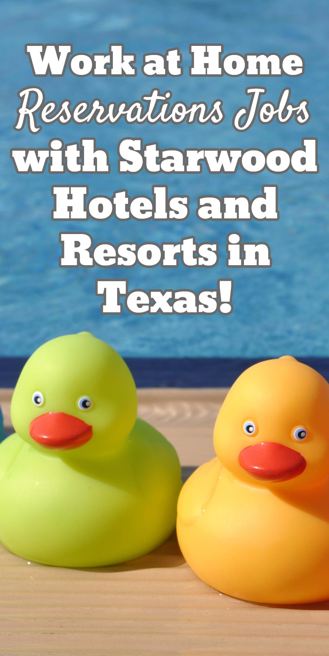 Work At Home Reservations Jobs With Starwood Hotels And Resorts In Texas
